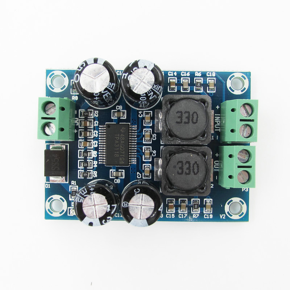 Mini Bordo Amplificatore Digitale TPA3118 Bordo Amplificatore Audio Modulo Amplificatore di Potenza Audio Mono 60 W XH-M311