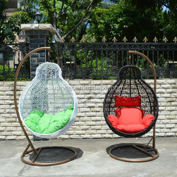 Superieur Rattan Indoor Outdoor Hanging Chair Canopy Patio Swing