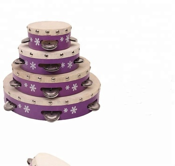 Fashion gift for baby/children  2018 NEW tambourine Children's Musical Toys percussion tambourine drum