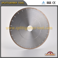 Engineered stone and quartzite blade diamond cutting disc