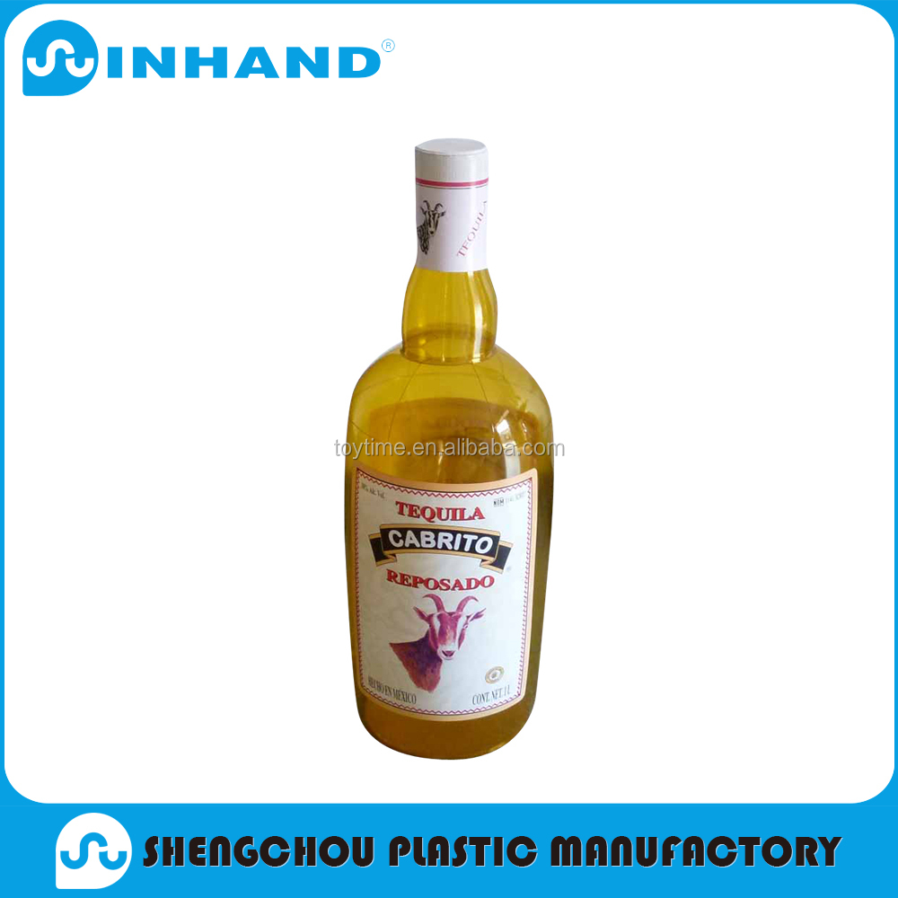 pvc inflatable advertising model for promotion/pvc inflatable bottle advertising item