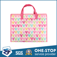 Superior quality ecofriendly reusable colorized decorative shopping bags