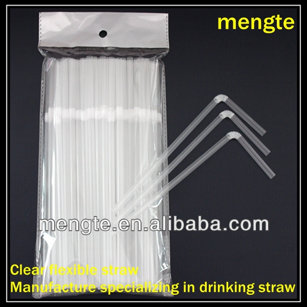 best price flexible plastic transparent drinking straw for drinks