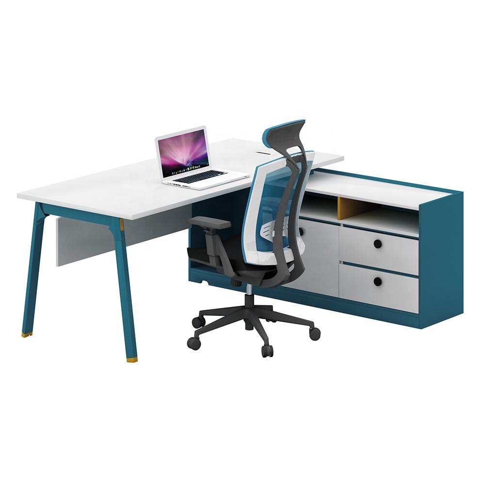 Custom Made Standard Size Modern Office Computer Desk For Director