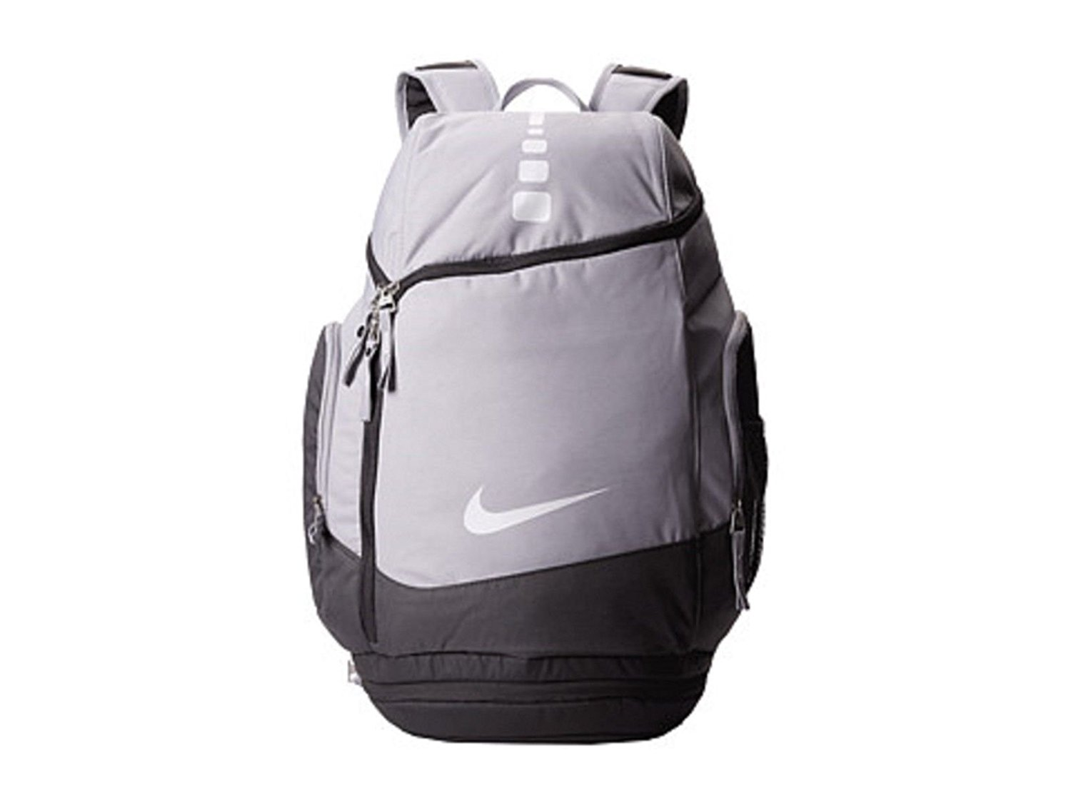 a04cfaea5830 Nike Hoops Elite Max Air Team Backpack Charcoal Dark Grey White BA4880-012