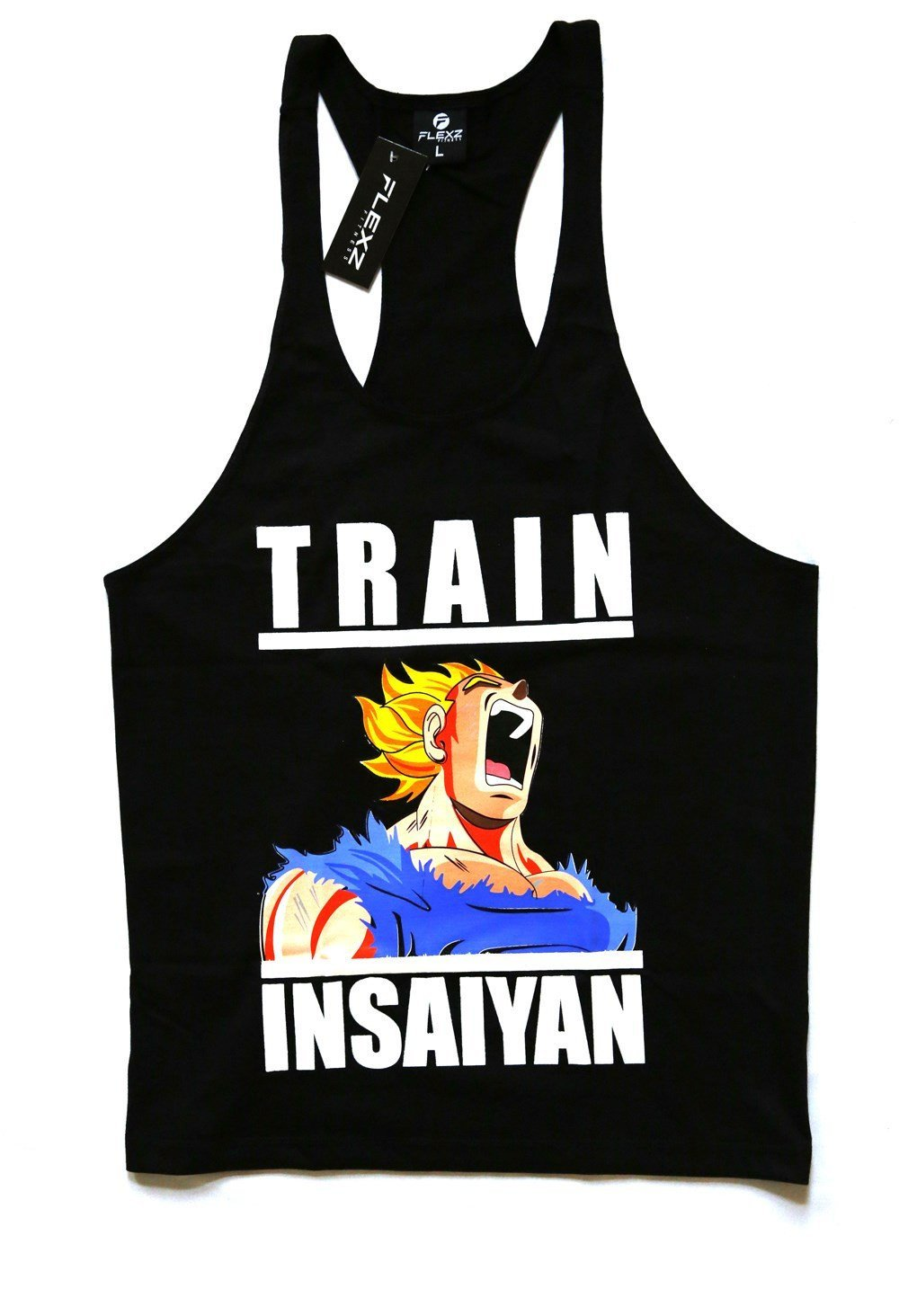b4b6ee17ca231 TRAIN INSAIYAN Singlet Stringer Vest Bodybuilding