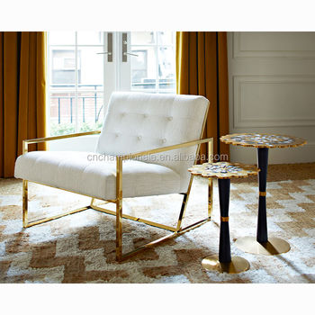 Awesome Goud Vinger Rvs Frame Fauteuil Sofa Buy Metalen Frame Sofa Rvs Sofa Set Fauteuil Sofa Product On Alibaba Com Alphanode Cool Chair Designs And Ideas Alphanodeonline