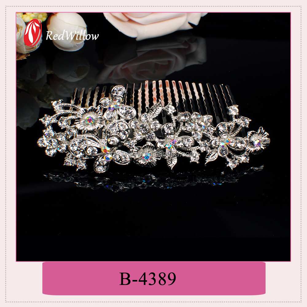 Hot Selling Custom Bow Hair Comb