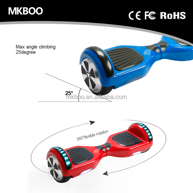 Best quality factory dropshipping electric scooter hoverboard app controlled hover board from China