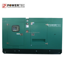 well-ventilated diesel generator construction power supply