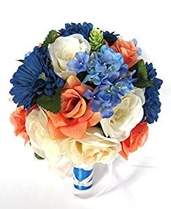Cheap Orange And Blue Wedding Bouquets, find Orange And Blue