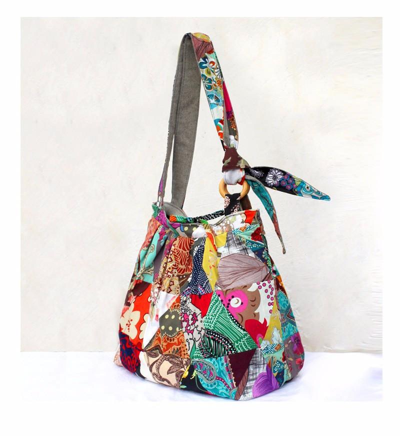 82039e407431 Large Bohemian Hippie Hipster Bags Woman Shoulder Cross Body Bag ...