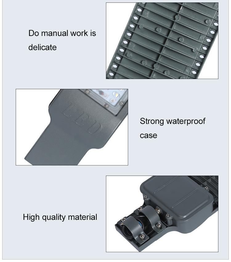 High Quality IP66 outdoor waterproof SMD Aluminium alloy 100w 150w 200w led street light