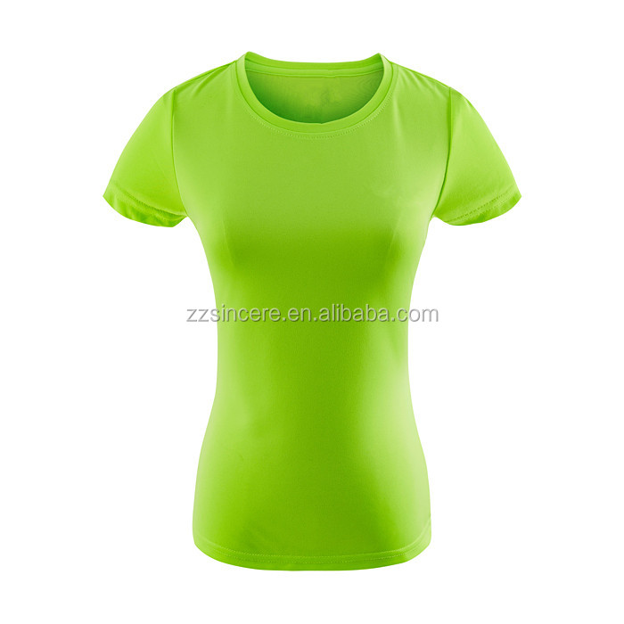 Popular Design Short Sleeves Promotional Dri Fit Spandex T-shirt