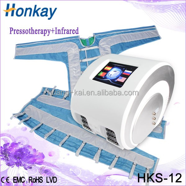 low price air pressure pressotherapy weight loss machine