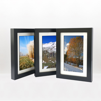 Bulk Wholesale Modern 8x10 Wood Picture multi apertur photo frame