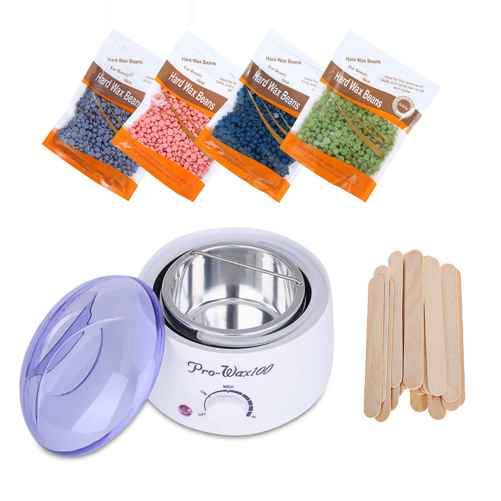 Amazon Best Seller Electric Waxing Kit Wax Warmer Hair Removal Kit