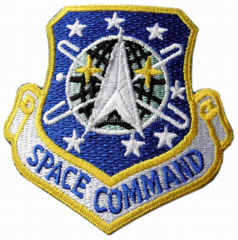 Eua AIR FORCE SPACE COMMAND escudo emblema PATCH