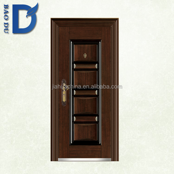 Beau China Product Commercial Exterior Single Steel French Doors Design