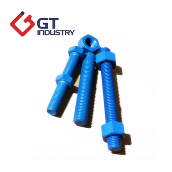 M8 Oem Available Teflon Coated Bolt A193 B7 Stud Bolt With Nuts - Buy A193  B7 Stud Bolt With Nuts,Stud Bolt Astm M8,Stud Bolt Astm Gr B7 Product on