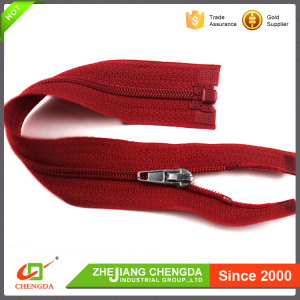 CHENGDA China Franchise ISO9001 Long Chain Open-End Zipper