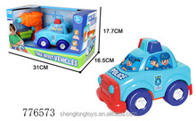 Mini plastic car assemby toys pretend educational toys