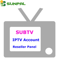 SUBTV 1 Year IPTV apk Subscription of Arabic African Spanish Europe M3U Channels List for Best 4K Android IPTV Set Top Box