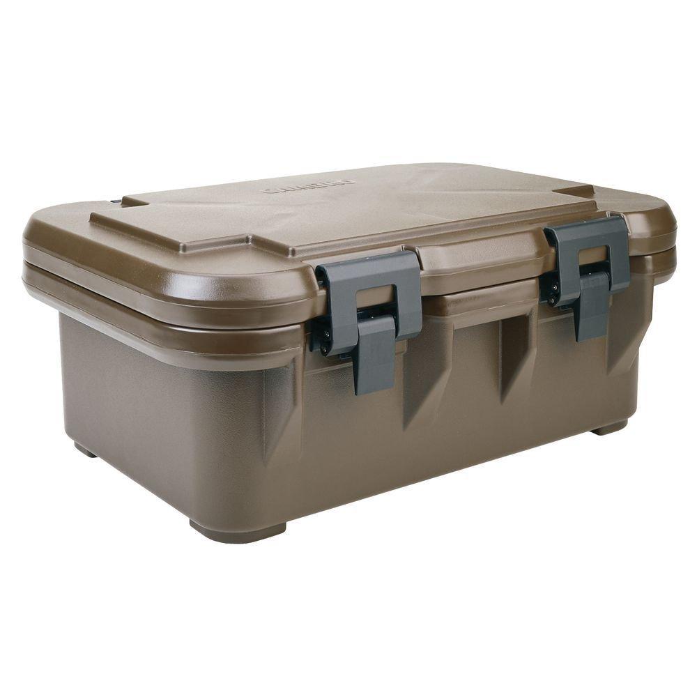 "Cambro Ultra Pan Carrier ""S"" Series 25 1/8""L x 17 1/8""D x 10 3/4""D Dark Brown - HUB-34697"