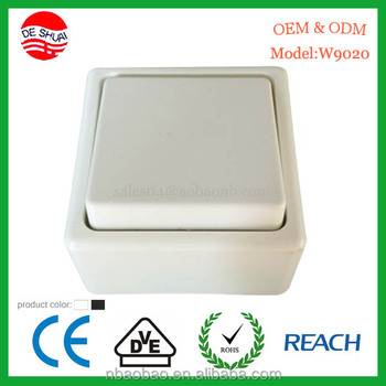 Surface Mounted Modern Electrical Wall Switch Prices