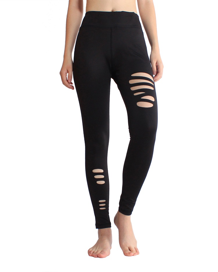 Großhandel Yoga Hosen Fitness Nach Cut Out Leggings Yoga Hosen