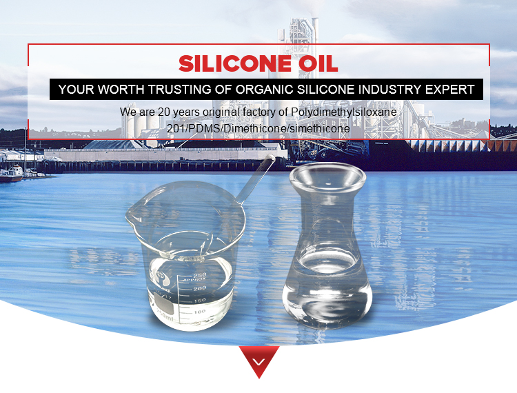 Manufacturer offer Dimethyl silicon/silicone oil/dimethicone in standard viscosity