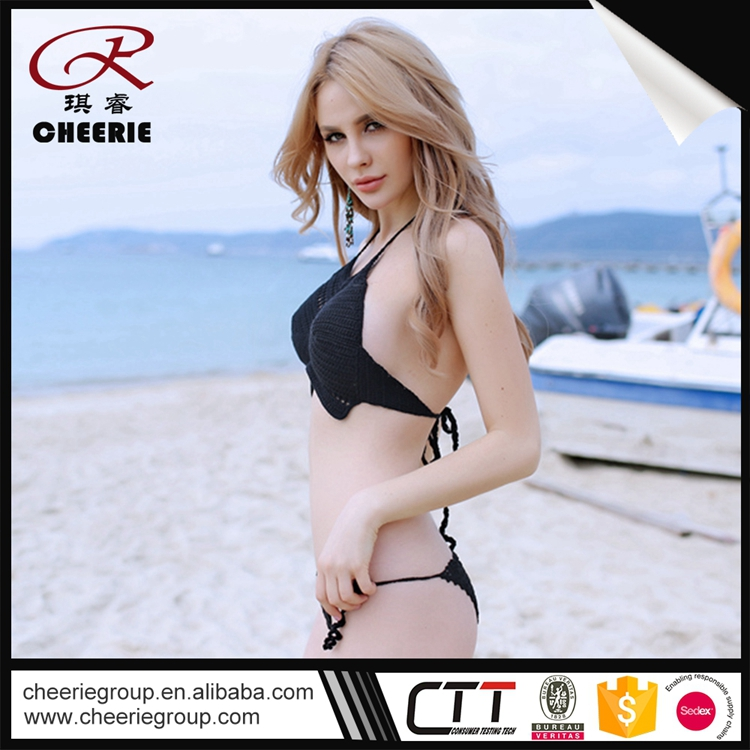 37bd0a7f78 Promotional Price OEM cotton swimsuit cover up hot sexy girl photo transparent  big bikini women