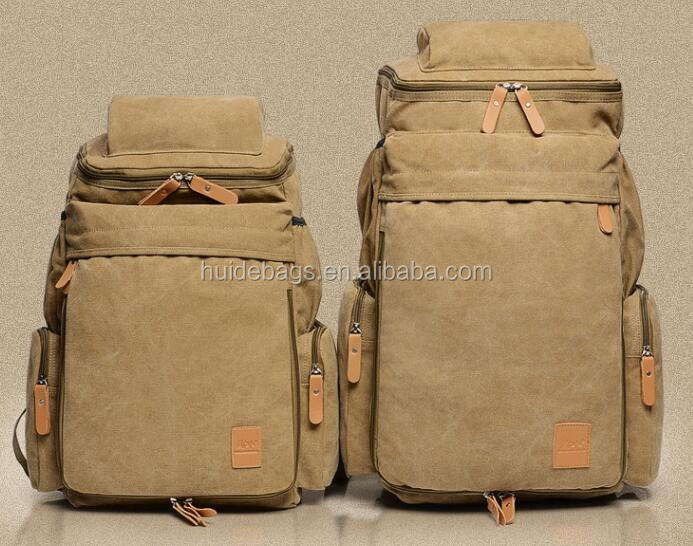 Manufacturers selling canvas backpack trend of Foreign Trade Wholesale computer backpack outdoor leisure male backpack