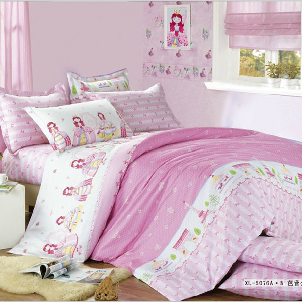 100 cotton princess style bedding for children