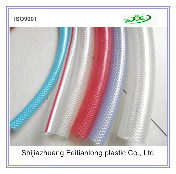Transparent PVC fiber Reinforced Hose / Flexible Plastic Pipe Tube/ PVC Hose