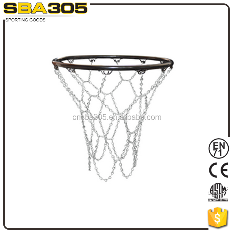 portable metal basketball rim