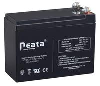 Sla rechargeable battery 12v 9.0ah in storage batteries, ups battery