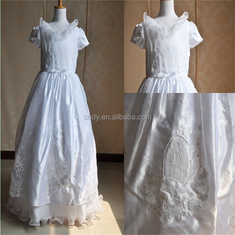 7d18553b5 2015 New Flower Girl Dresses Ball Gown Party Pageant Communion Dress ...