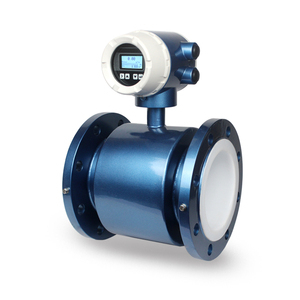 RS485 200VAC powered sewage acid electromagnetic flow meter