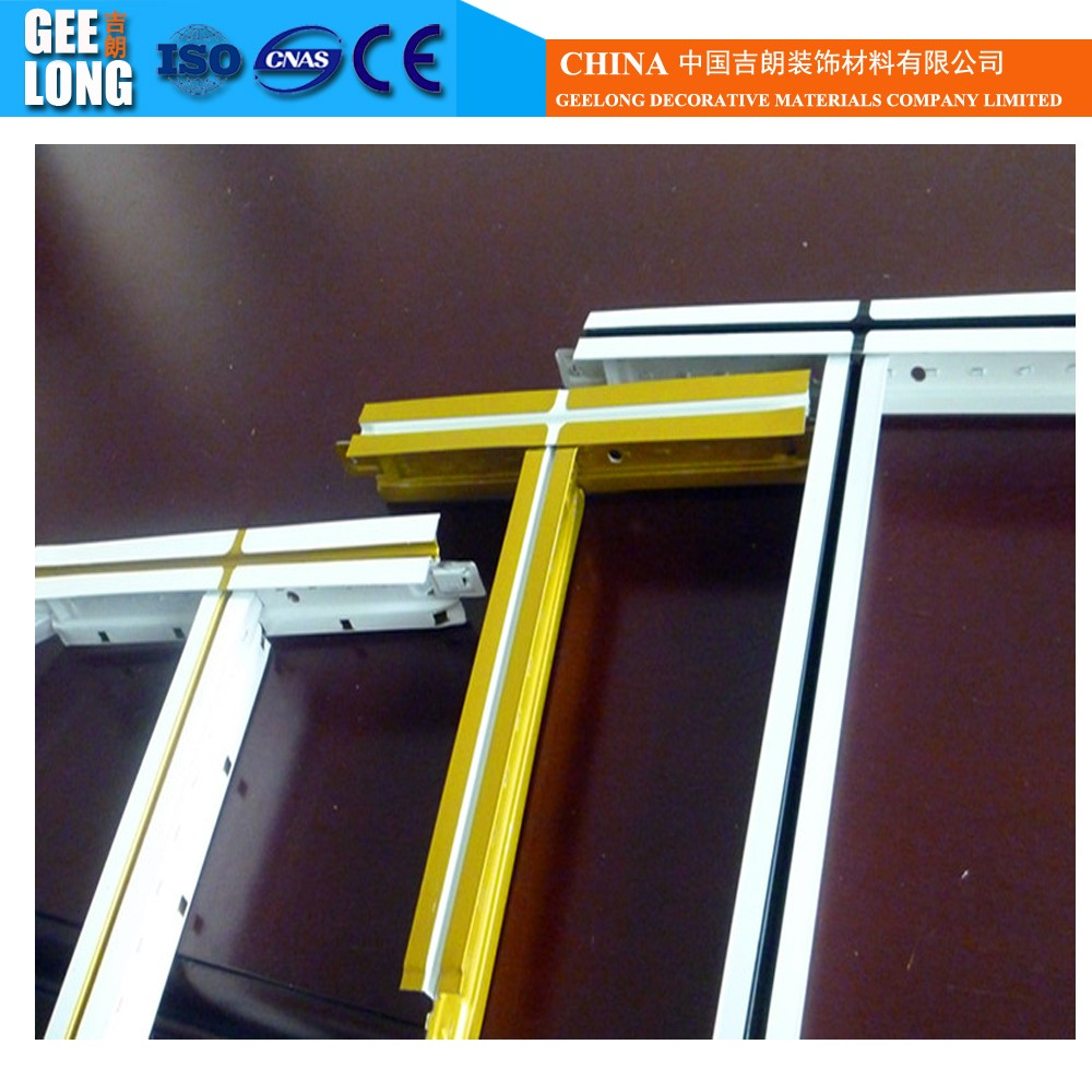 painting ceiling grid/metal ceiling t bar/\decorative ceiling t-grid