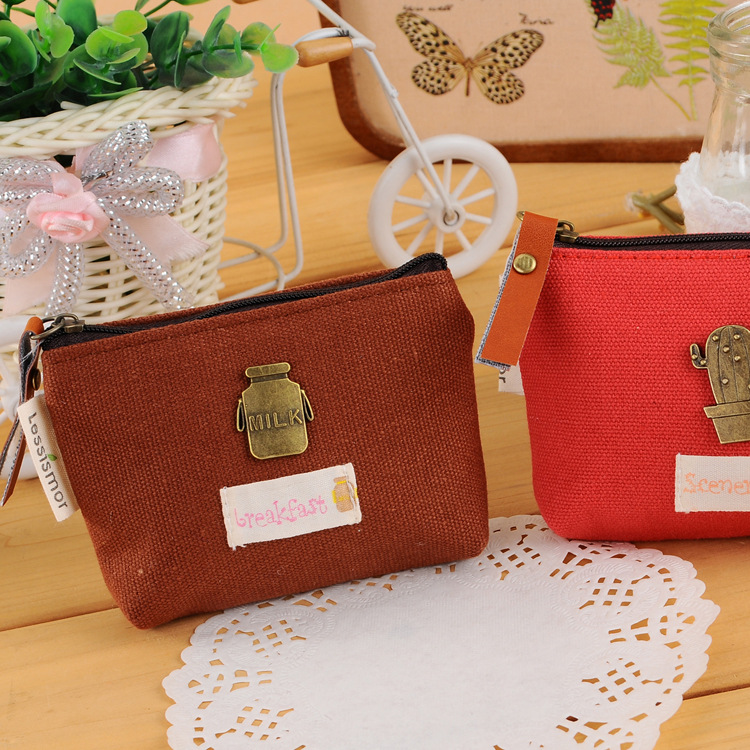 2015 женщин пакета(ов) новый творческий ретро небольшой нулевой кошелек / сумка / конфетов цвет