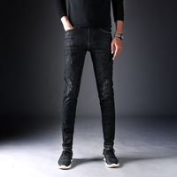 selling mens custom veste en clothing jean pants denim fabric men sexy bootcut jeans