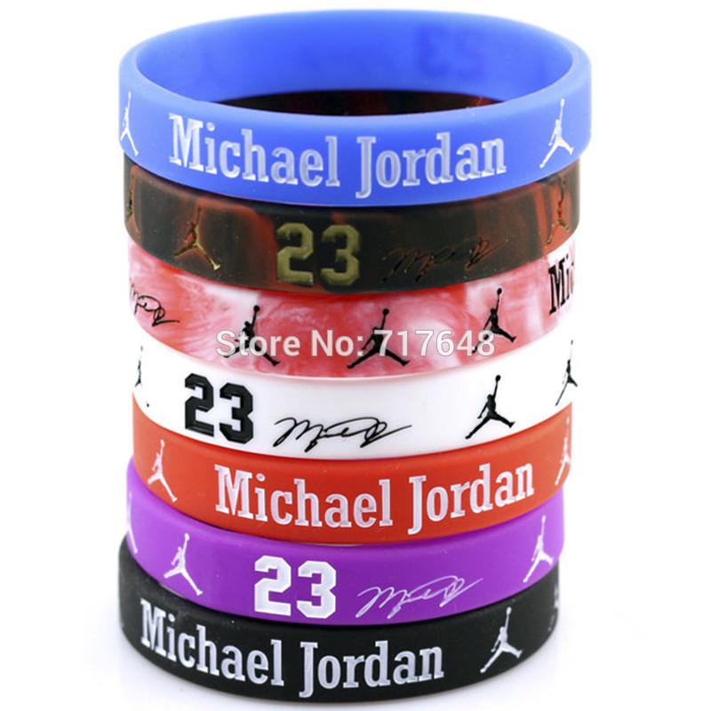 Top quality two color top 10 bulk cheap fashionable silicone wristbands for NBA