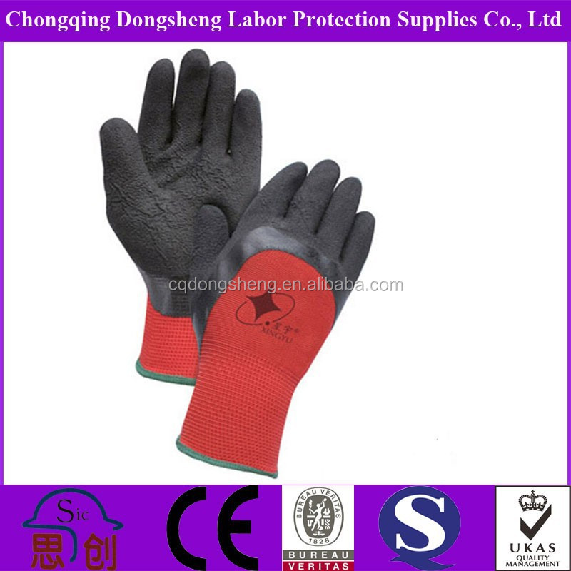 Double Color 13g Polyester Latex Gloves Malaysia Price