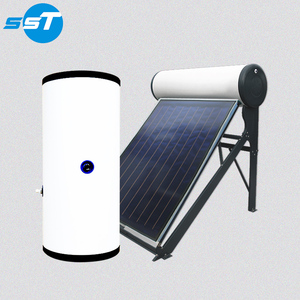 304/316/2205/2304 duplex stainless steel economy split 300liters heat pipe solar water heater for somali