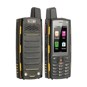 UNIWA T301 IPS Quad Core External Antenna 4G Signal Zello Mobile Phone  Walkie Talkie PTT