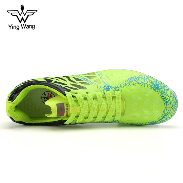 Spikes Green for Training Professional Men Lightweight Running Shoes xawSf6nq