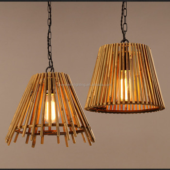Antike Beleuchtung Globus Holz Kronleuchter A B C Form Bambus