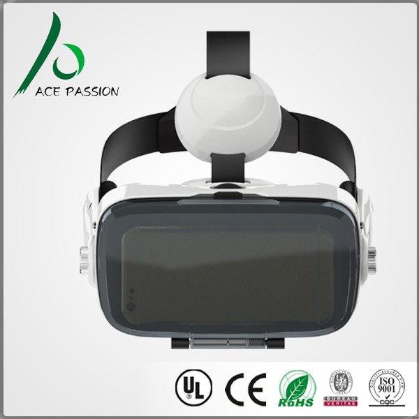 New generation mobile accessories 3d vr headset for video