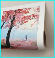 Matte coating inkjet fine art canvas roll 100% cotton inkjet canvas digital printing fine art papers